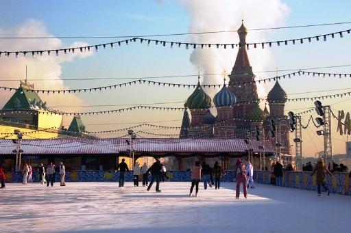 Каток на Красной площади Фото: Mosgrad.ru