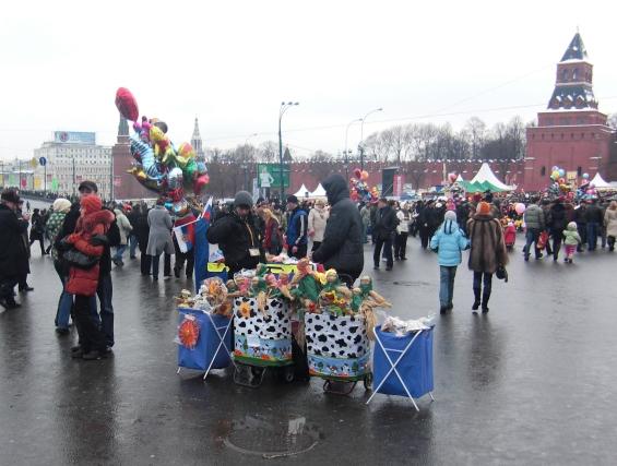 Празднование Масленицы в Москве Фото: Mosgrad.ru